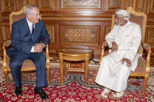 Israelin pääministeri Benjamin Netanjahu tapasi Omanin sulttaanin Qabus ibn Said Al Saidin lokakuun lopussa Masqatissa.
