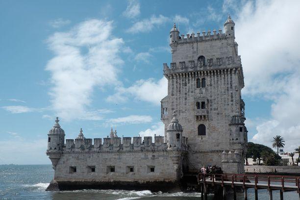 Belemin torni Tajo-joen suulla Lissabonissa.