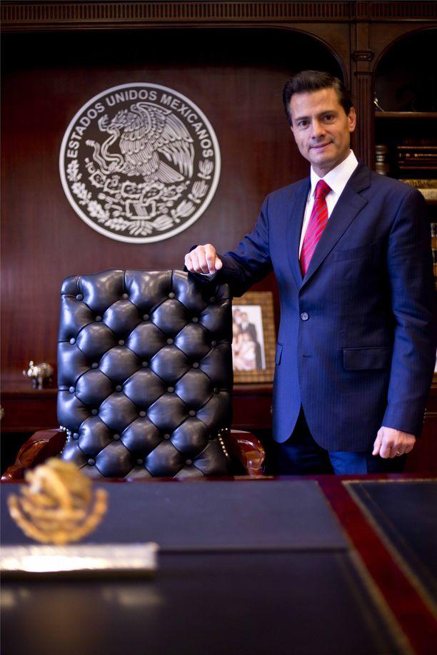 Meksikon entisen presidentin Enrique Peña Nieton yhteyksistä Sinaloan huumekartelliin on huhuttu useita kertoja.