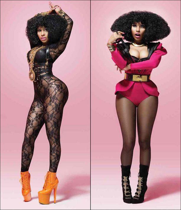 Nicki Minaj juhlisti platinalevyä näin seksikkäillä otoksilla.