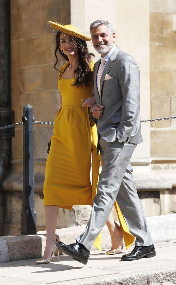 Clooneyn pariskunta kuuluu herttuatar Meghanin lähipiiriin.