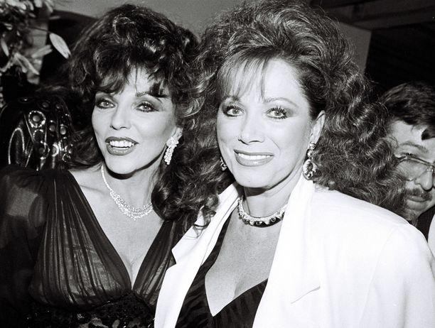 Collinsit juhlivat yhdessä myös vuonna 1988 Prime Time -kirjajuhlissa.