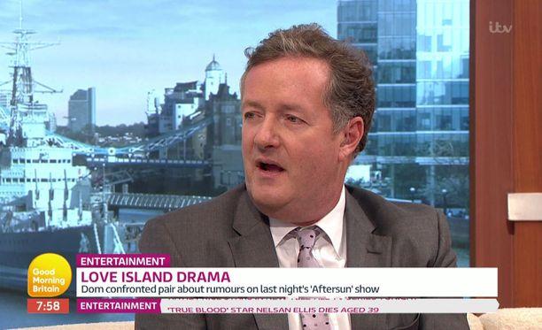 Piers Morgan on tunnettu räväköistä mielipiteistään.