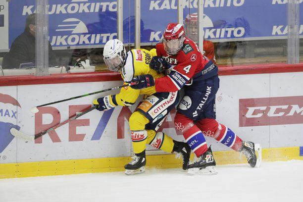 Kuva HIFK:n ja Jukurien ottelusta viime kaudelta.
