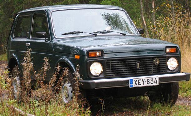 Lada Nivaa on valmistettu vuodesta 1976.