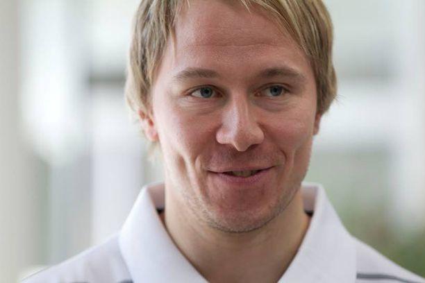 Jussi Jokinen meni naimisiin vuonna 2007.