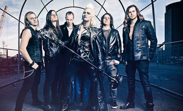 Tuoreelle Battle Beast -albumille sävellyksiä on tehty ensimmäistä kertaa koko yhtyeen voimin.