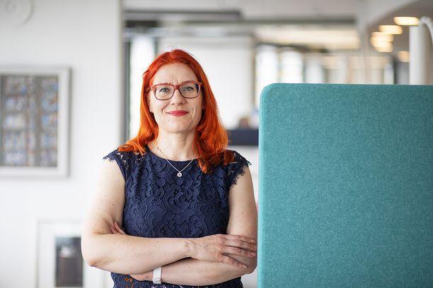 Annika Rönni-Sällinen on ollut kesäkuusta 2019 Palvelualojen ammattiliiton PAM:n puheenjohtaja.
