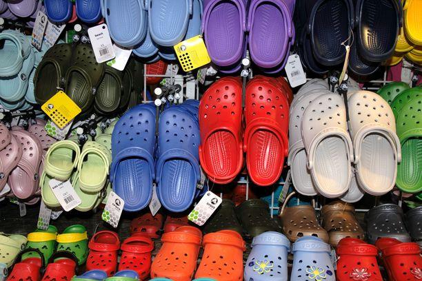 Crocsin Clog- muovikenkämalli on saanut ikonisen maineen.