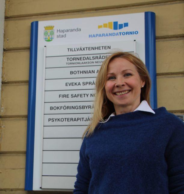 Tuula Ajanki on Tornionlaakson neuvoston toiminnanjohtaja.