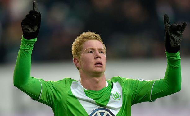 Kevin De Bruyne sai 20 000 euron sakot.