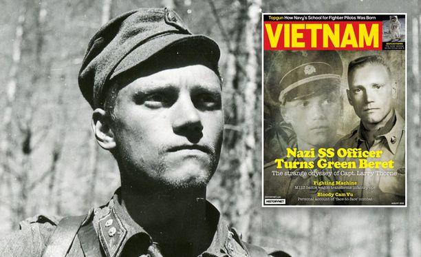 Amerikkalainen Vietnamin sodasta kertova Historynetin lehti on nostnaut Lauri Törnin kanteen.