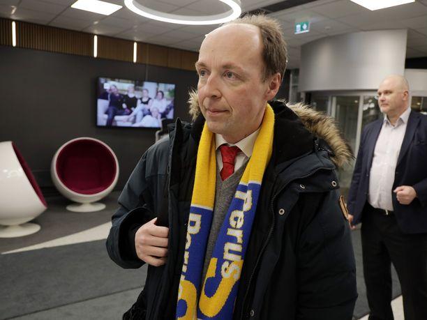 Jussi Halla-ahon perussuomalaiset haluaa muutoksia lainsäädäntöön, joka koskee kiihottamista kansanryhmää kohtaan.
