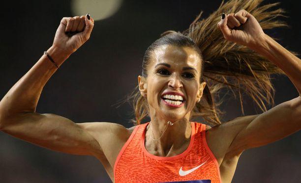 Tunisialaisen Habiba Ghribin 3000 metrin estejuoksussa saavuttamat MM- ja olympiahopeat kirkastuivat venäläiskilpasiskon dopingkäryn seurauksena.