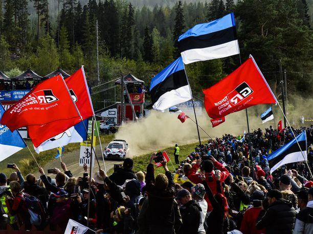 Jyväskylän MM-ralli oli toisena vuotena peräkkäin Ott Tänakin ja virolaisten juhlaa.