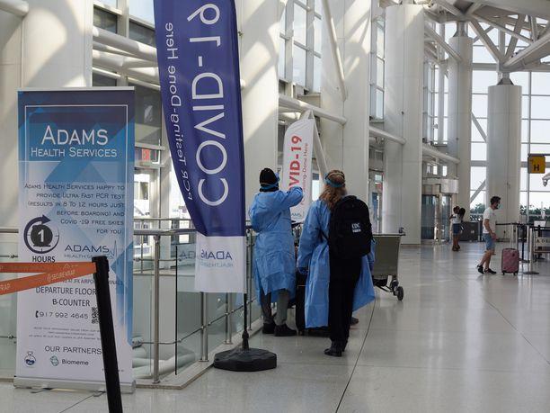 Yhdysvallat on yli vuoden tauon jälkeen avaamassa kansainväliset rajansa matkailijoille, kunhan nämä ovat täysin rokotettuja.