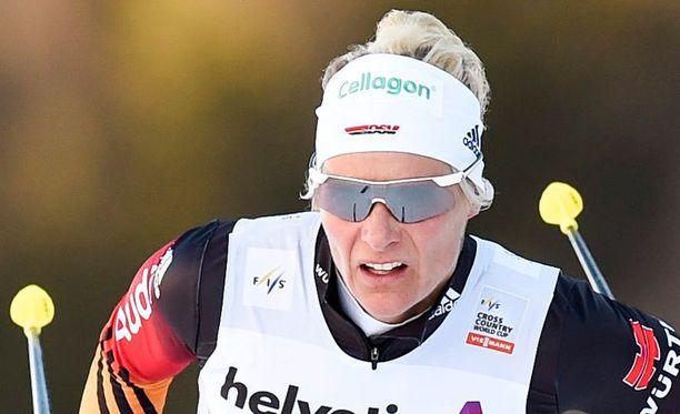 Claudia Nystadilla on kaksi olympiakultaa ja yksi maailmanmestaruus.