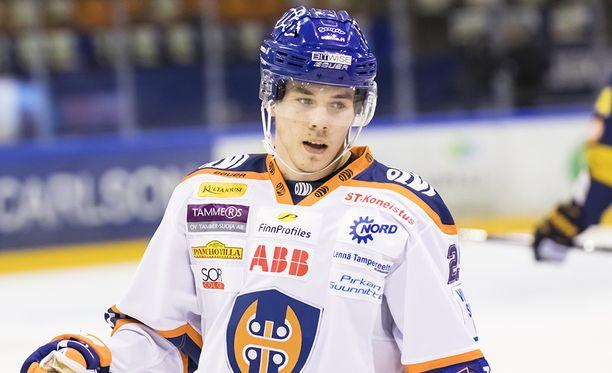 Henrik Haapala on vireessä Kuopiossa.