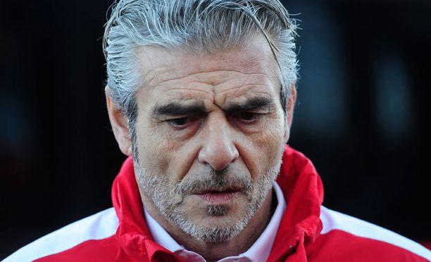 Maurizio Arrivabene johtaa Ferraria uudelle aikakaudelle alhon jälkeen.