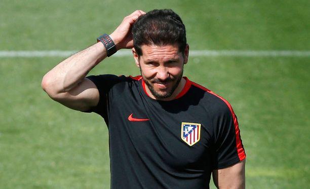 Diego Simeonen luotsaama Atletico isännöi tänään Bayernia.
