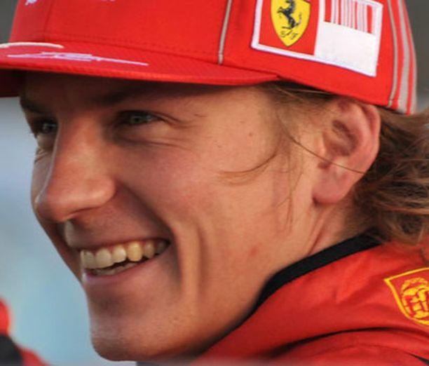 Ferrari-lippistä tuskin Kimin päässä enää nähdään. Red Bullin kenties.
