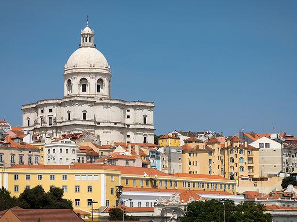 Portugalin pääkaupunki Lissabon on varautunut Leslie-myrskyyn.