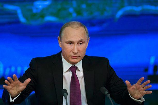 Putin esiintyi Moskovan puheessaan itsevarmana.