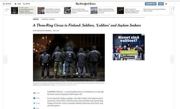 The New York Timesin haastattelemat katupartion jäsenet sanovat, että kyseessä ei ole natsiryhmä.