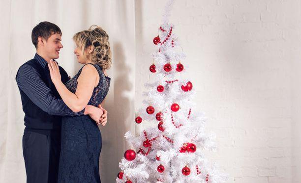 Seksistä innostutaan eniten joulun aikaan, väittää tuore tutkimus. Kuvituskuva.