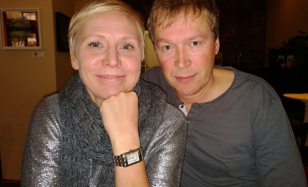 Mari Turunen ja Harri Hinkka.