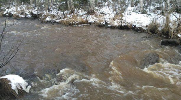 Talvivaaran eteläpuolisten lähivesistöjen vettä ei tällä hetkellä suositella talous- ja virkistyskäyttöön.
