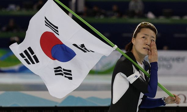 Lee Sang Hwa oli naisten pikamatkan yllätysvoittaja.