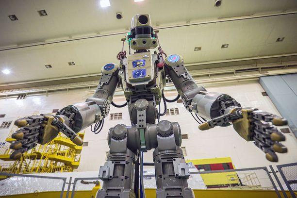 Fedor-niminen robotti lähti avaruuteen torstaina 22. elokuuta.