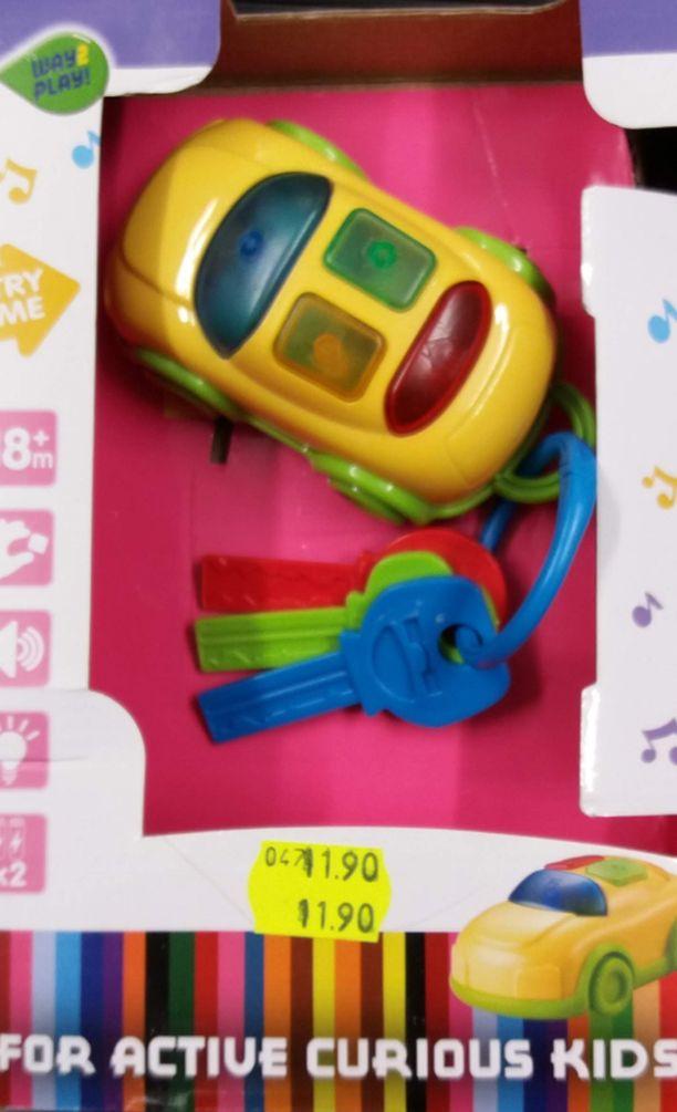 Tämä lelu rikkoontuu liian helposti ja voi aiheuttaa tukehtumisvaaran.