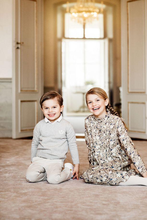 Estelle ja Oscar viettivät synttäreitään tänä keväänä.
