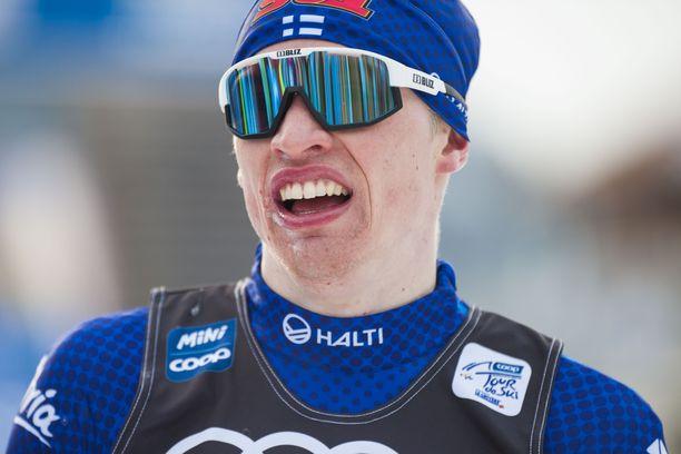 Iivo Niskanen oli kymmenes Tour de Skillä.