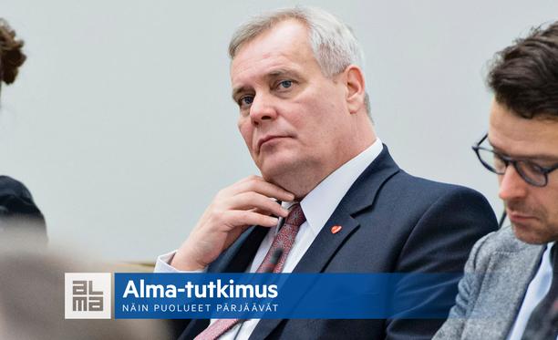 Antti Rinne tavoittelee jatkoa SDP:n puheenjohtajana. Puolue on tutkijan mukaan hyötynyt siitä, ettei se oppositiossa joudu tekemään päätöksiä.