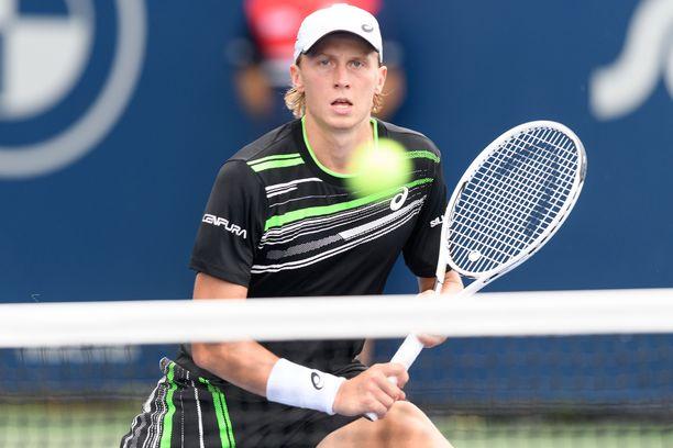 Emil Ruusuvuori pelaa tällä hetkellä nousujohteista tennistä.
