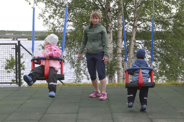 Kun 2-vuotiaat Silja ja Samuel olivat vastasyntyneitä, oma aika oli kortilla.