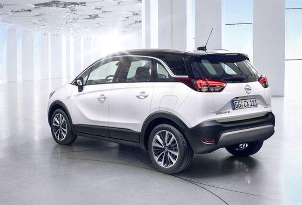 Muotoilu edustaa Opelin tämän hetken suuntausta.