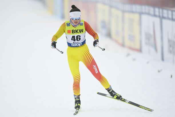 Dinigeer Yilamujiang sai jäädä kilpailemaan Faluniin.