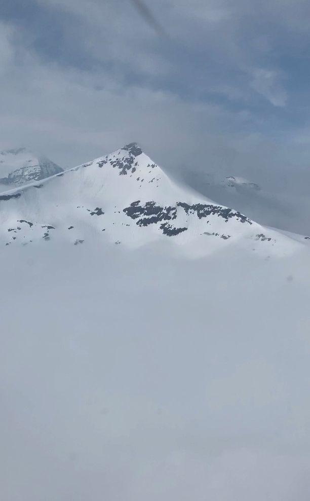 Tamokdalenissa on vieläkin liikaa lunta.