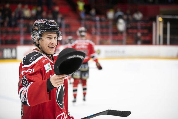 Jyri Marttisen pelit jatkuvat odotetusti Porissa.