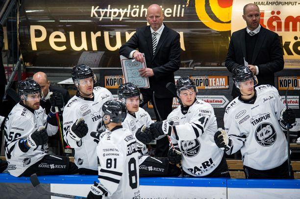 Marko Virtanen hyppäsi TPS:n valmentajaksi perjantaina.