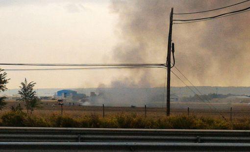 Hävittäjä syöksyi maahan lähellä Madridia.