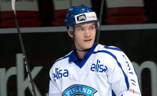 Joel Armia osui kahdesti Ruotsia vastaan.