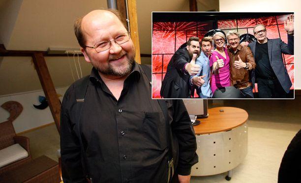Isä Mitron vierailu on jäänyt entisen Uutisvuoto-juontajan Peter Nymanin mieleen.