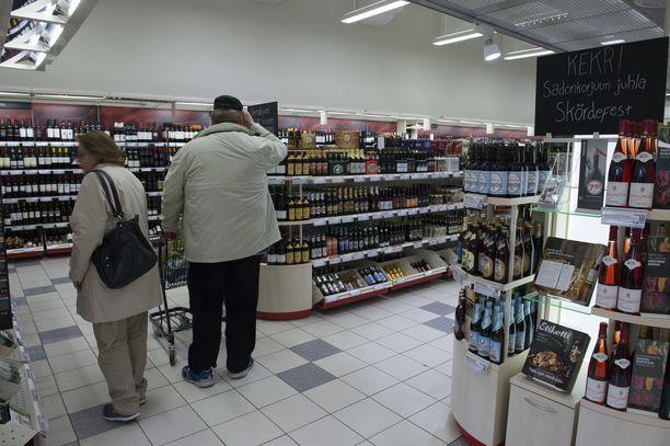 Vaatimus elintarvikemyynnistä ei koske Alkon myymälöitä.