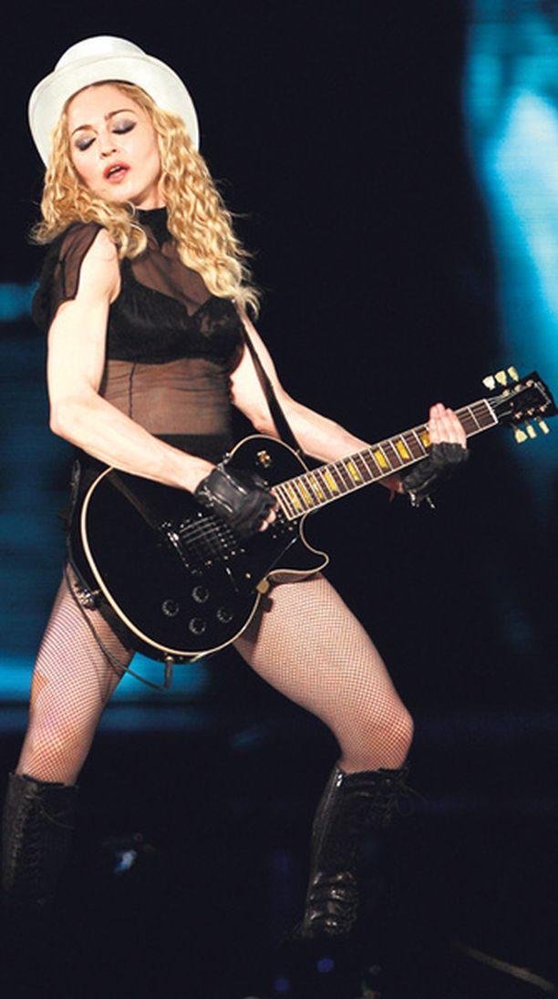 Madonna esiintyy Helsingin Jätkäsaaressa elokuussa.