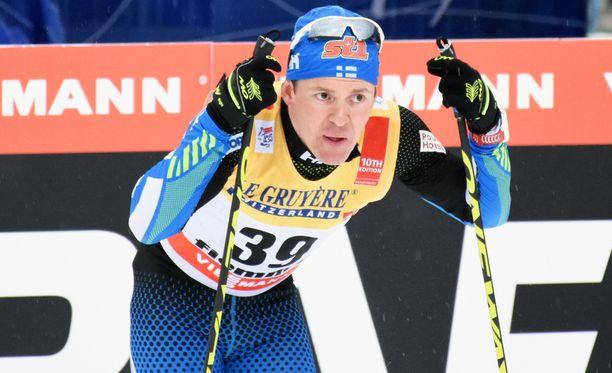 Sami Jauhojärvi oli parhaana suomalaisena 28:s.